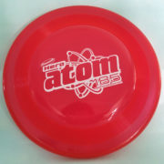 Hundefrisbee Hero Atom - rot
