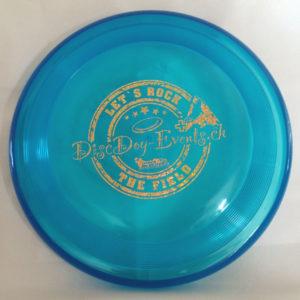 Hundefrisbee Super Hero - blau