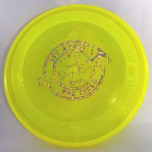 Hundefrisbee Super Hero - gelb