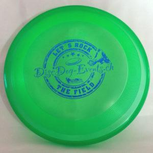 Hundefrisbee Super Hero - grün