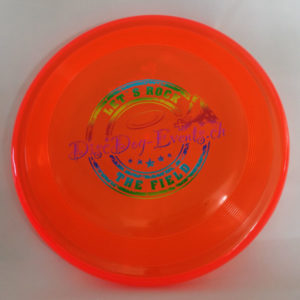 Hundefrisbee Super Hero - orange